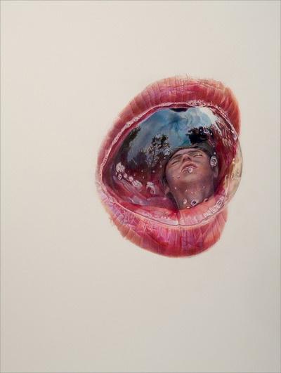 Julia Randall Superbes dessins réalisés au crayon de couleur par l'artiste américaine Julia Randall. Une maîtrise parfaite qui rend ses dessins presque réalistes…