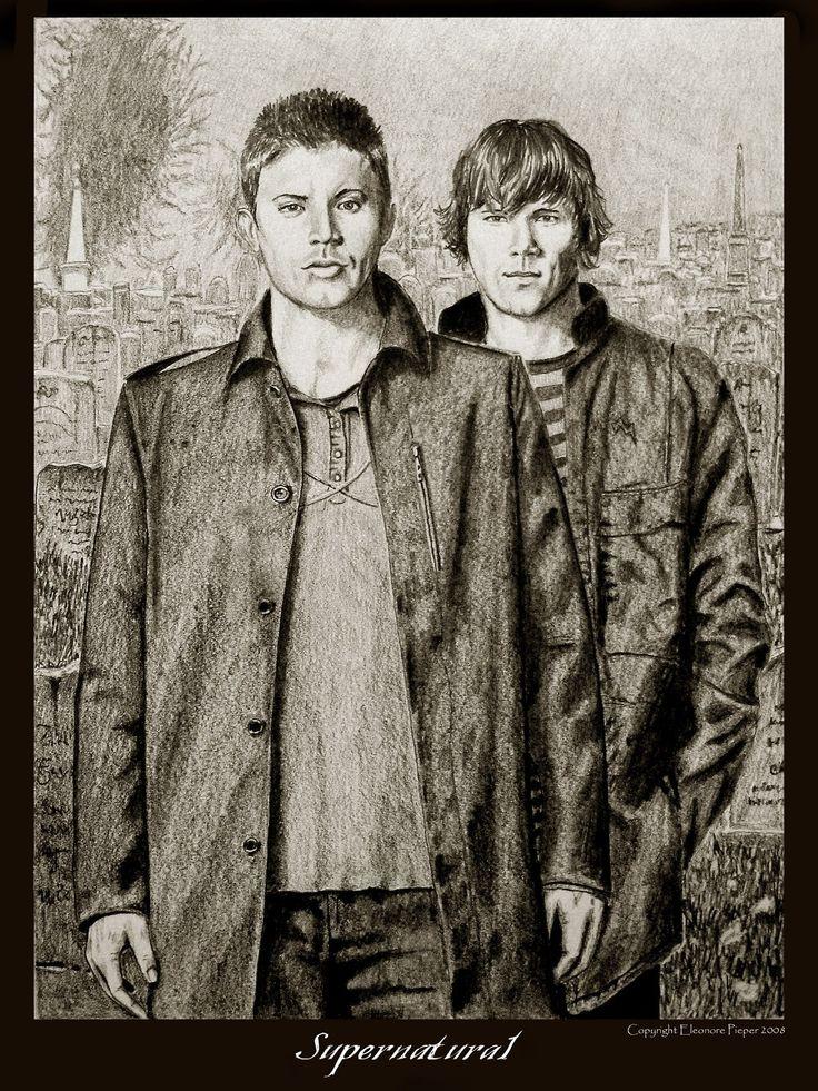Para você que gostada  série de televisão  Supernatural,  uma seleção de ilustrações e foto montagens arquivadas no deviantArt feitas por fãs.  Espero que gostem.