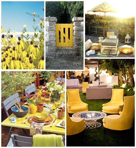 yellow outdoor furniture. colors for summer decorating yellow decor decoratingoutdoor decoryellow outdoor furnitureyellow submarine furniture