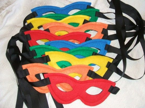 superhero party ideas   Love these for favors for a super hero party. by MaryAnnK