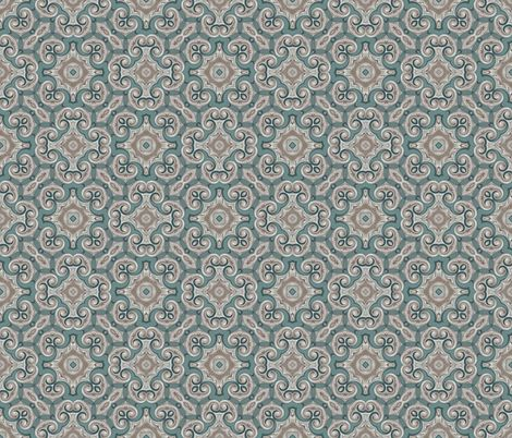 Victorian Baroque Pattern fabric by hollywood_royalty on Spoonflower - custom fabric