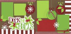 Deck The Halls Page Kit Out on a Limb Scrapbooking