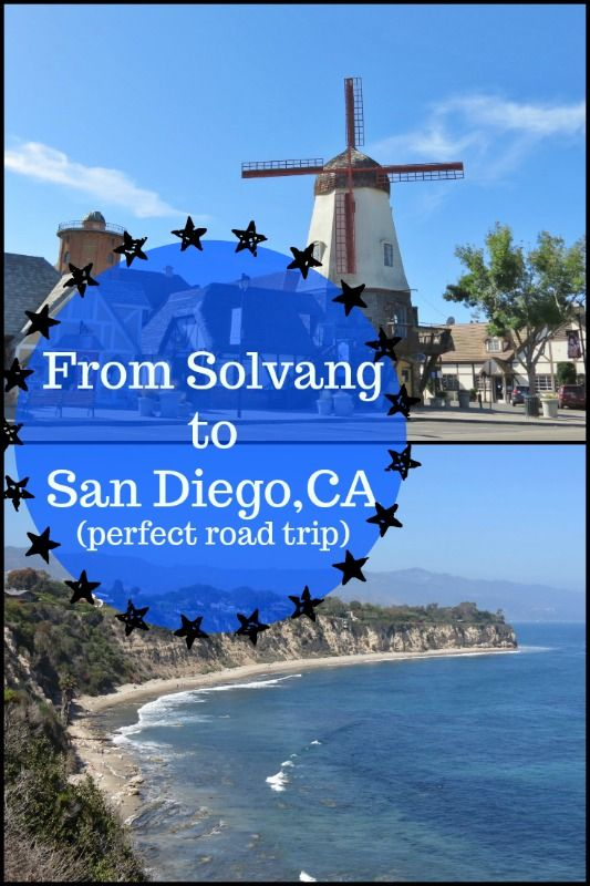 Take this road trip from Solvang to San Diego and you'll love what you find...  #Solvang #SanDiego #roadtrip