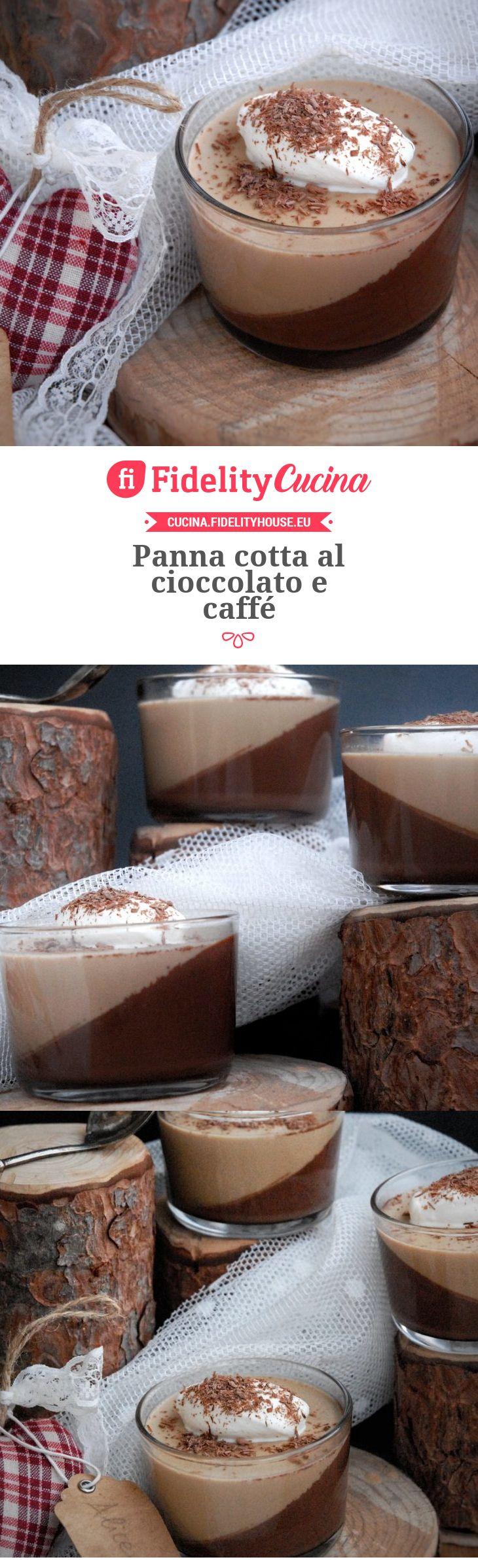 Panna cotta al cioccolato e caffé
