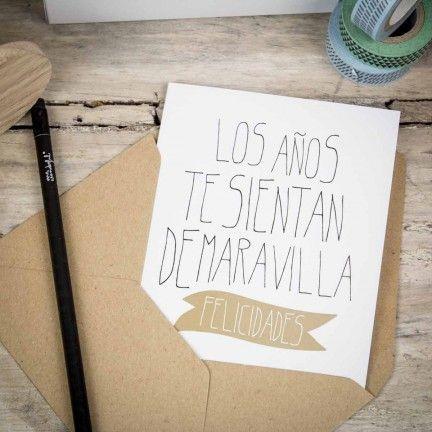 Tarjetas de felicitación Wonder - Surtido de 5 modelos. Diseño de Mr.Wonderful. A la venta en: http://www.mrwonderfulshop.es