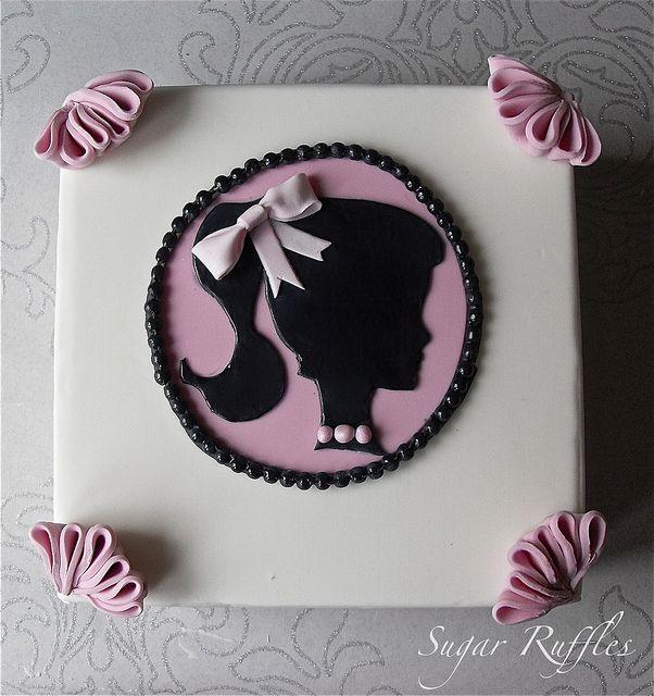 Beautiful Birthday Cakes For Girls | Vintage Barbie Birthday Cake | Flickr - Photo Sharing!