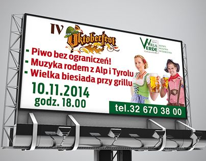 "Check out new work on my @Behance portfolio: ""Advertising Banner for Oktoberfest Party at Villa Verde"" http://be.net/gallery/50862381/Advertising-Banner-for-Oktoberfest-Party-at-Villa-Verde"