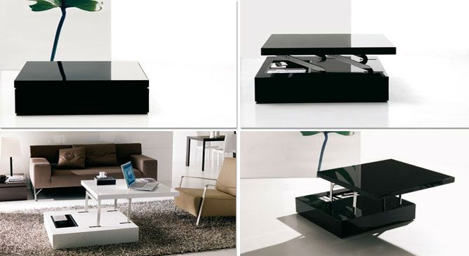 Convertible table 25 pinterest - Smart furniture for small spaces handy solutions ...