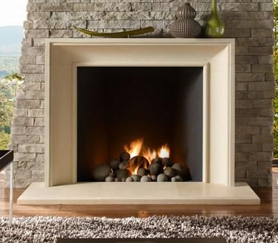Cast Stone Mantels Shelf Bay Area San Francisco | BlazeFireplaces.com