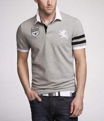 Express - Rugby Polo. like it all a LOT