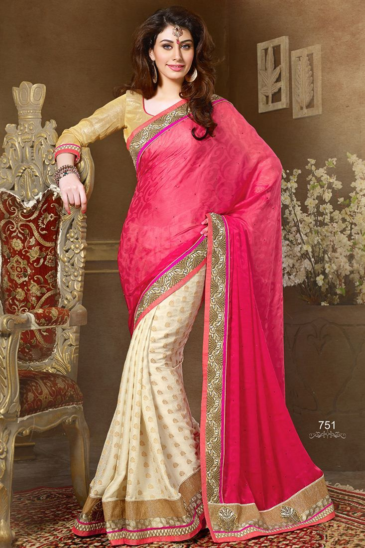 Stunning Party Wear Designer Saree