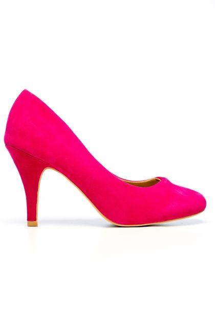 Pantofi 91264-2, Fuchsia