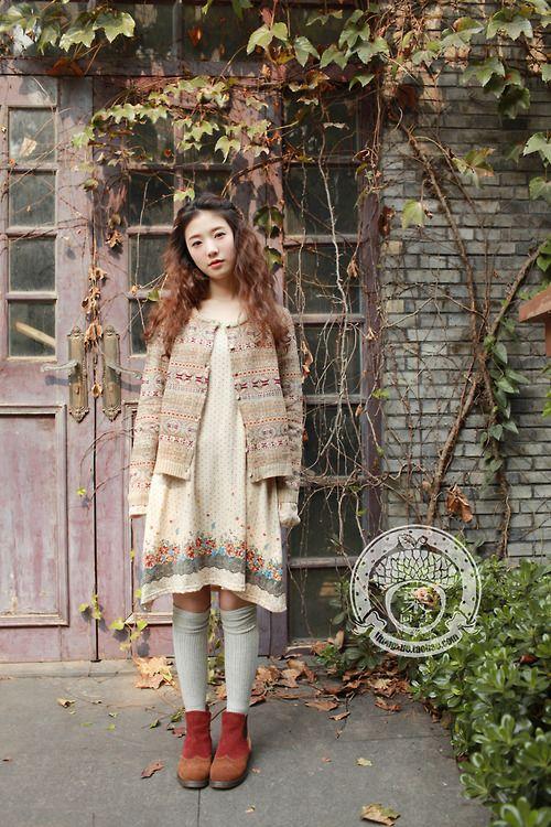 寂静的森林 - mori girl Fashion: Mori Kei