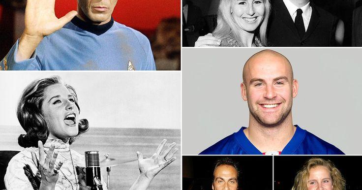 Us Weekly honors those celebrities who have died in 2015, including Leonard Nimoy, Samuel Goldwyn Jr., Stuart Scott, and Anita Ekberg