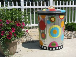 DIY trash can | cheap therapy