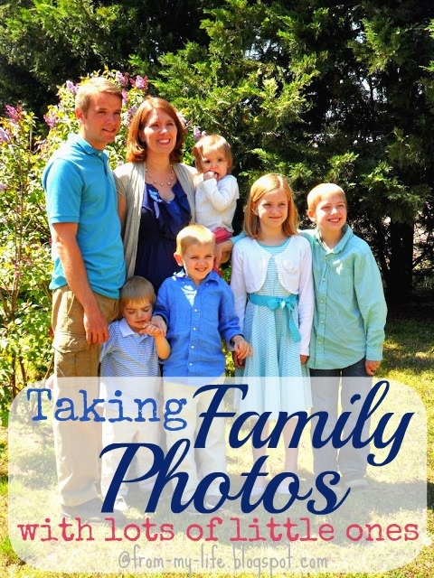 Taking Family Photos @Kristin * gives helpful advice for taking pictures with kids #tipsters