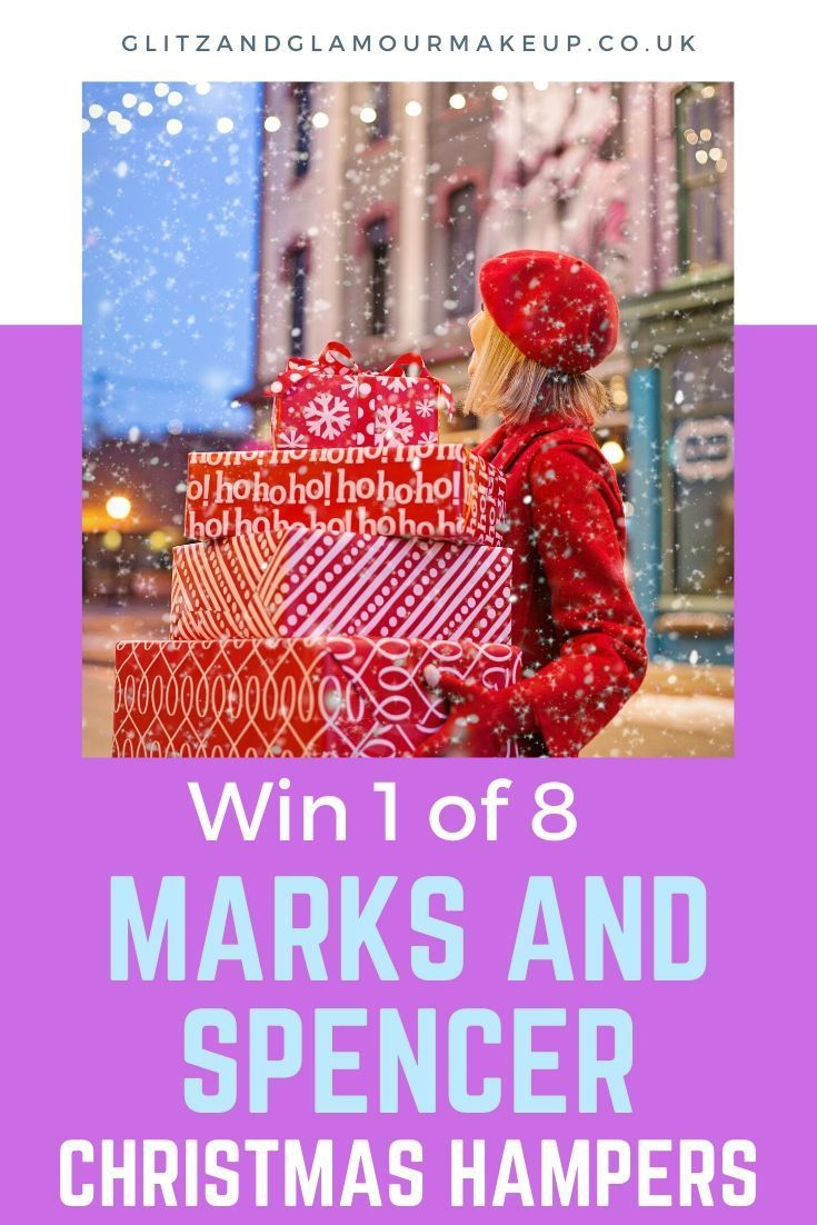 Win One Of 8 Marks And Spencer Christmas Hampers Christmas