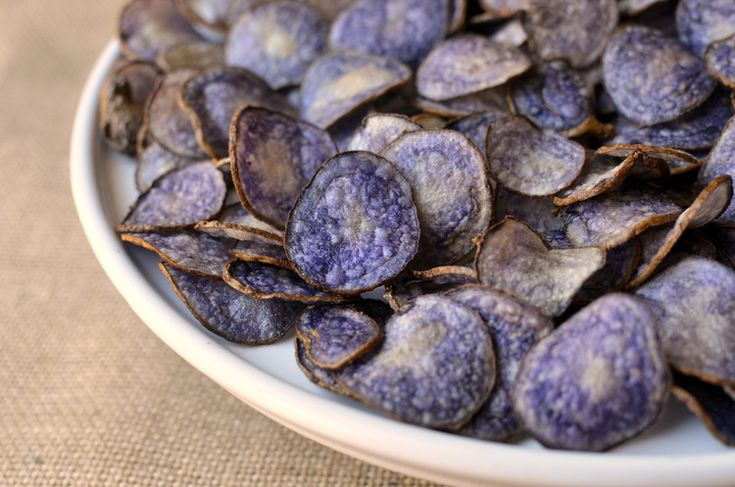 Purple Peruvian Potato Chips - ButterYum