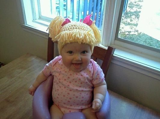 Cabbage Patch Hat!