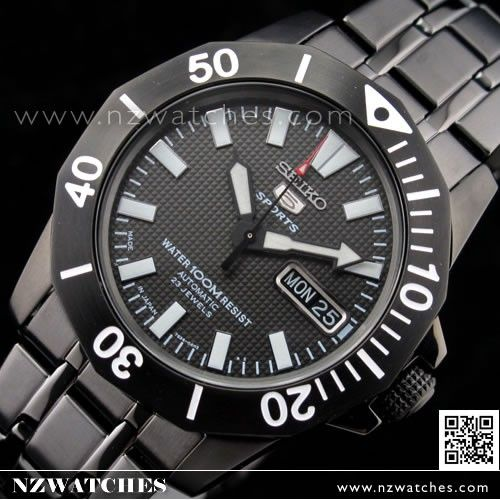 Seiko 5 Sports Automatic 100m Men's Dive Watch SNZF85, SNZF85J1, Made in Japan 275nzd