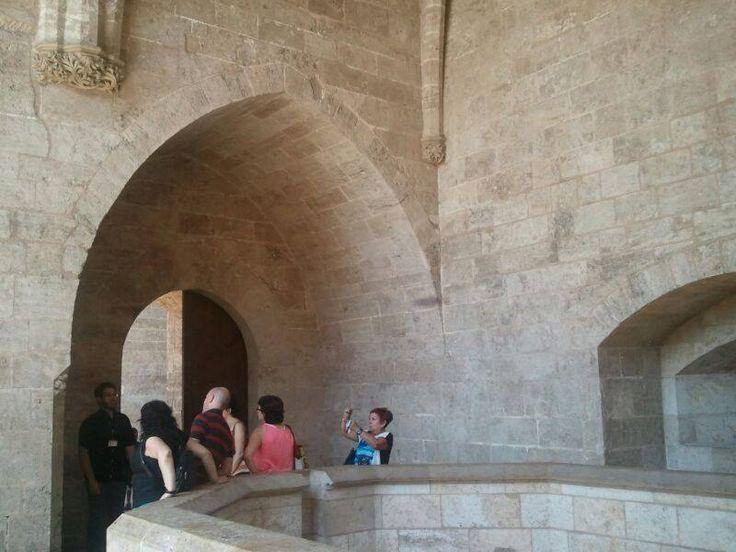 Torres de Serranos. Camins Medievals. CaminArt. Valencia