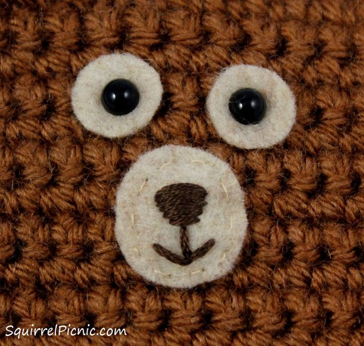 How To Embroider Eyes Onto Amigurumi : 17+ best images about Sewing - Faces on Pinterest ...