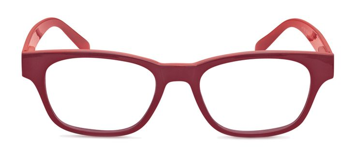 Reading glasses Mood duo red