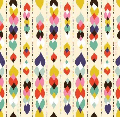 """Prints: Helen Dardik. I definitely tend to lean towards quirky block coloured, simple shapes in prints, generally quite abstract. I love bold, bright and playful patterns. She strives to create designs that are """"fun, fresh and beautiful"""""""
