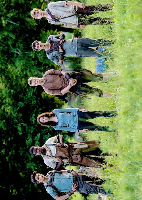 i hate it everytime theres a Maze Runner pic,there is no Alby there hes important too!!