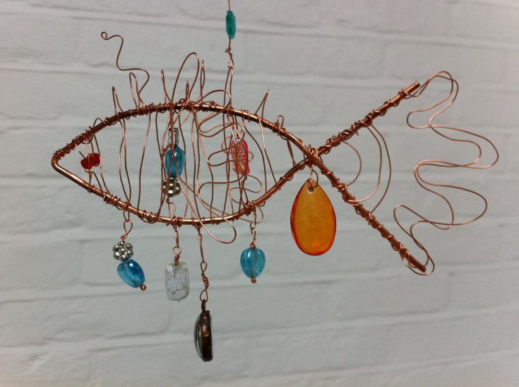 Wire Fish | tales from the corner house...