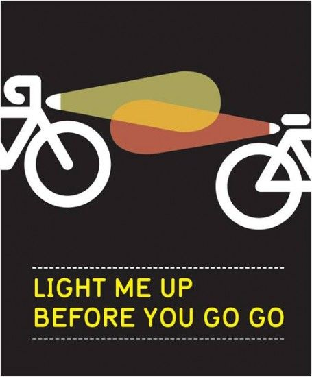 miletwenty4:  Riding outdoors early in the morning or late at night? Remember to have front and back lights on your bike. Alternatively, you can always try out the winter sport choice of athletes: the trainer.