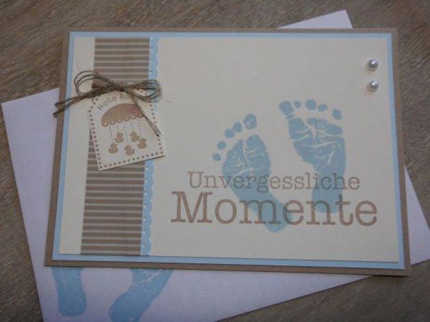 Babykarte zur Geburt/Taufe