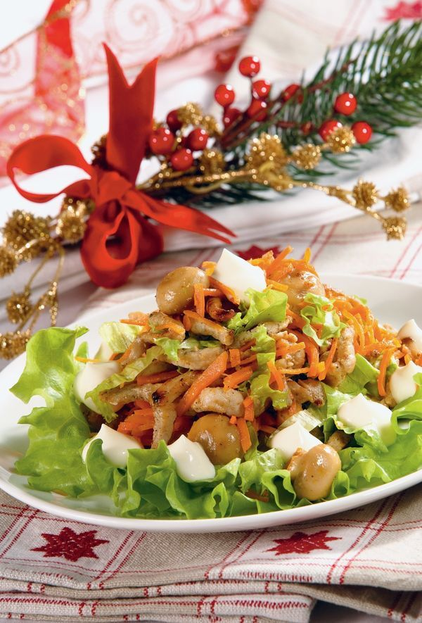 салат цезарь с курицей рецепт иль лазерсон