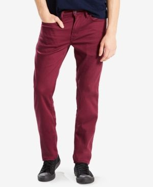 Levi's 511 Slim Fit Jeans - Red 29x30