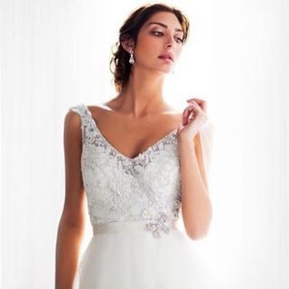 Our 'Giselle' gown from the 'Amaline Vitale' Custom Collection #love #happy #bridalstyle #bridestory #weddingday #weddingtime #wedding #weddingideas #bride #bridal #bridallook #bridetobe #weddingdress #weddinggown http://gelinshop.com/ipost/1518500050703266860/?code=BUSy8AxlLQs