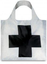 LOQI / museum| Malewicz: Czarny krzyż. Trwała siatka na zakupy