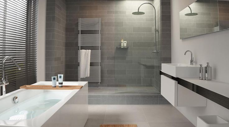 A wetroom can still have all the features of a standard bathroom.