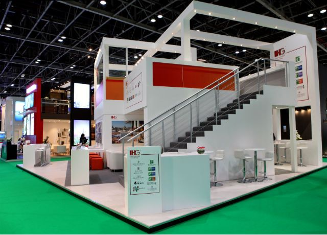 Exhibition Stand Installation : Design and installation of exhibition stand by elevations