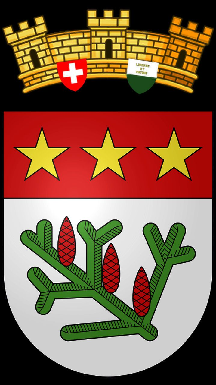 Blason de la commune de la praz district du jura nord - Office des poursuites jura nord vaudois ...