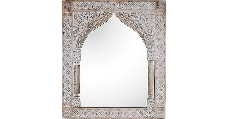 Carved Indian Mirror | One Kings Lane