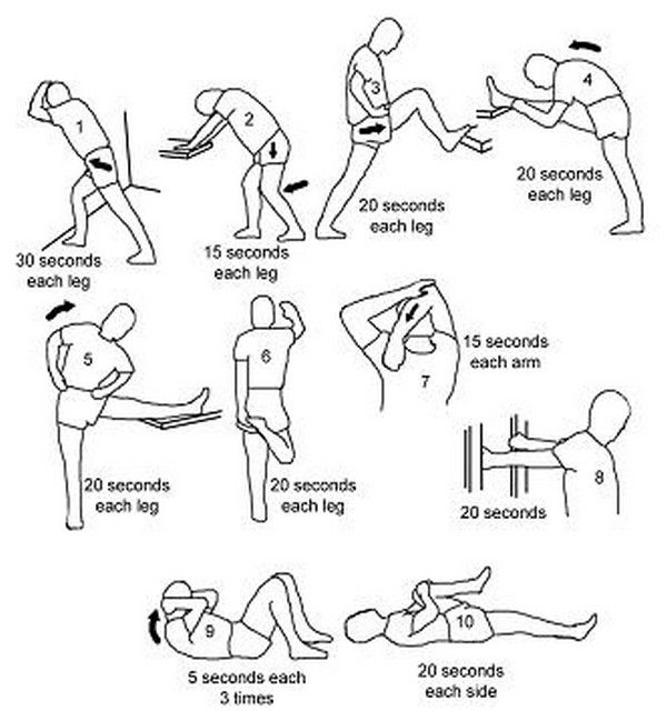 Hip Stretching Exercises for Women