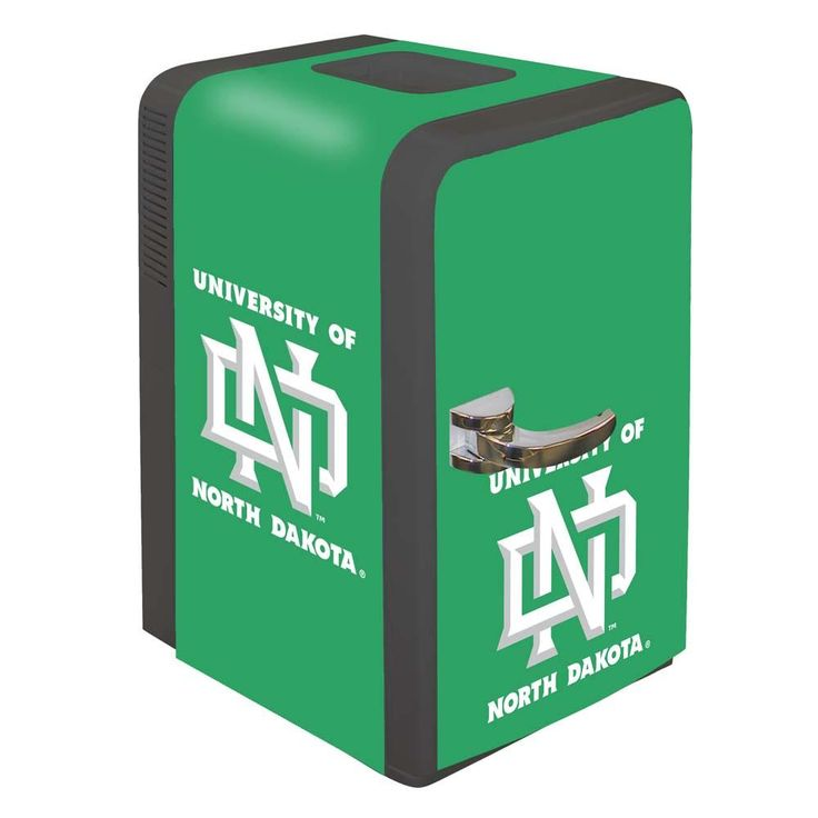 North Dakota Fighting Hawks Portable Party Hot/Cold Fridge
