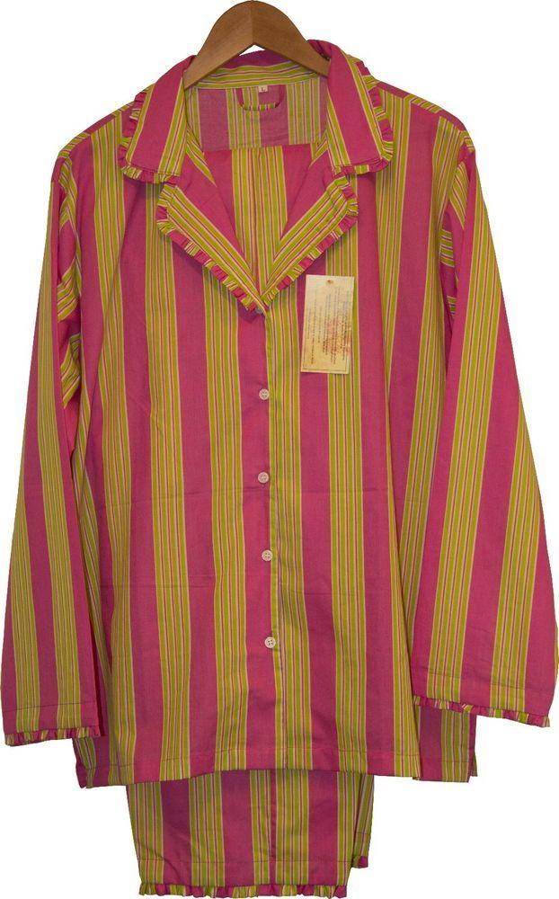 Candy Stripe: 100% Cotton Women's Pajamas