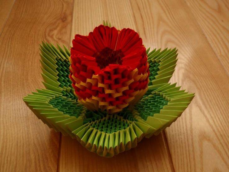 Les 132 meilleures images du tableau 3d origami sur pinterest cr ations en papier origami - Animaux origami 3d ...