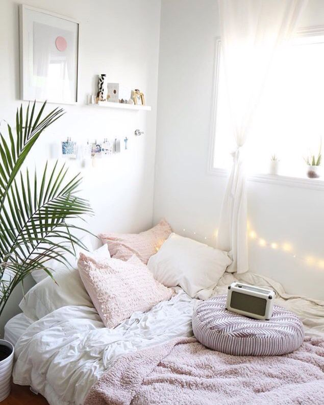 Love This Fern Attending A Low Bed Cozy Home Decor In