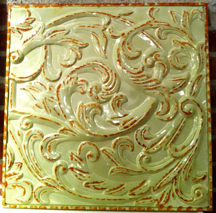 9 best Antique Tin Ceiling Tiles , Rustic Wall Deco images on ...