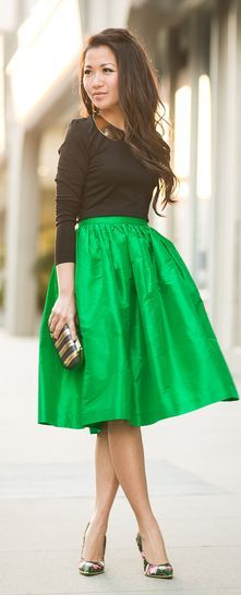 24 best images about midi skirts on Pinterest | Cobalt blue, Full ...