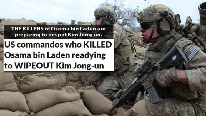 Comandantes americanos que mataram Bin Laden estão prontos para exterminar Kim Jong-un