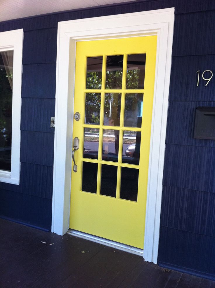 or maybe yellow + navy on the house exterior... maybe navy + mustard yellow + chartreuse??