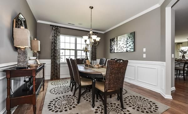 Absolutely Beautiful Dining Room From Lennar Charlotte In The Dorchester Plan From The Wood